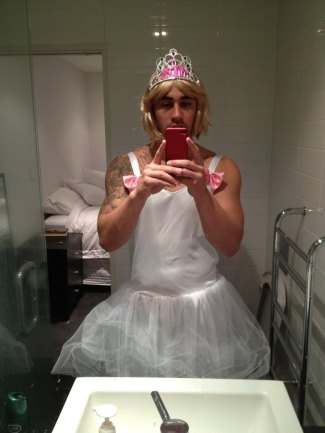 shaun johnson princess crossdresser -twitter shaun_johnson90