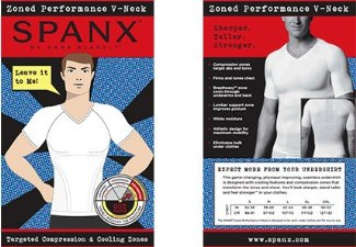 body sculpting shirt for men spanx