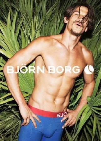 bjorn borg male underwear models