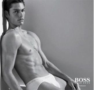 hugo boss bodywear chris faroux