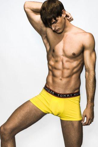 tommy hilfiger male underwear models manuel vega