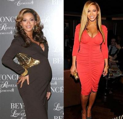 after pregnancy weight loss - celebrity secrets - beyonce
