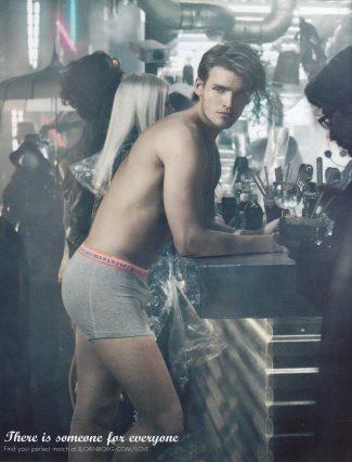 bjorn borg male underwear models - niklas nilsson - fall winter 2008