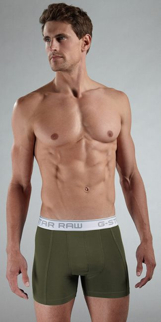g-star raw mens underwear model - Ryan Bertroche
