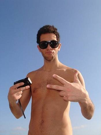 gabe saporta shirtless sin camisa