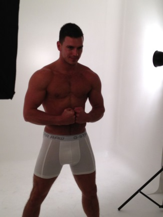 g-star raw mens underwear boxers male model paddy o brian
