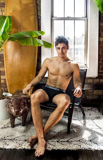 hanes underwear models - antoni porowski