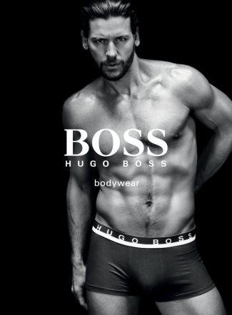 hugo boss black bodywear fall winter 2011-12 - male model Josh Button