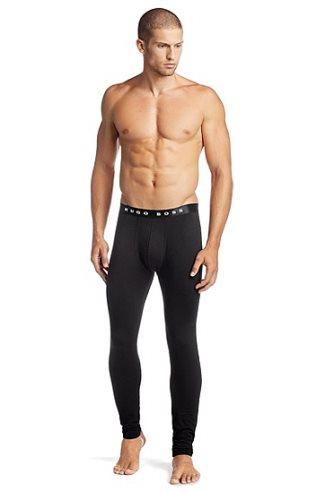 hugo boss long johns underwear on sexy male model