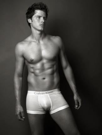 jeremiah wood underwear model - calvin klein boxerbriefs