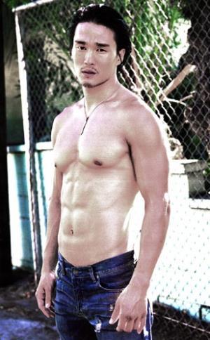karl yune sexy shirtless asian hunk in hollywood