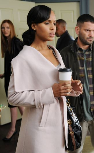 kerry washington coat in scandal - ferragamo coat