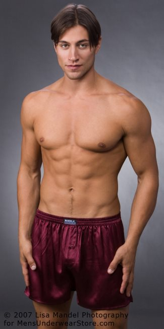 mansilk mens boxers underwear