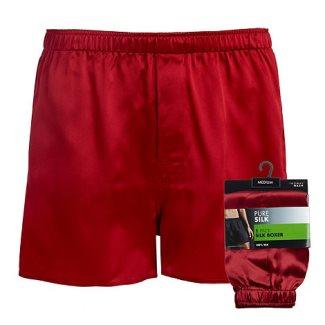 mens silk underwear - thomas nash boxer shorts