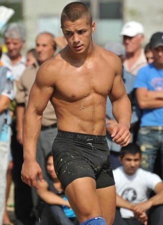 nike underwear compression shorts - nike pro on wrestler