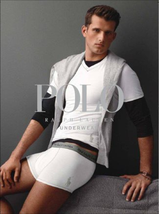 ralph lauren sexy male underwear model boxers - who is he
