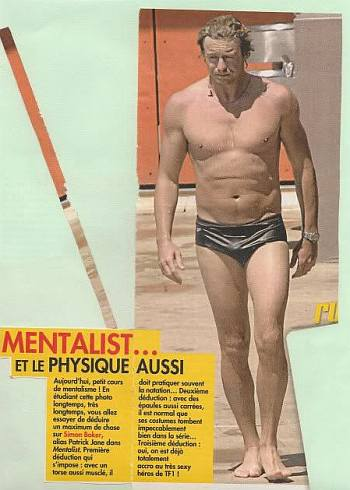 simon baker speedo - water polo athlete