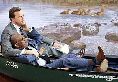 willie geist gay with al roker - duck hunting buddies