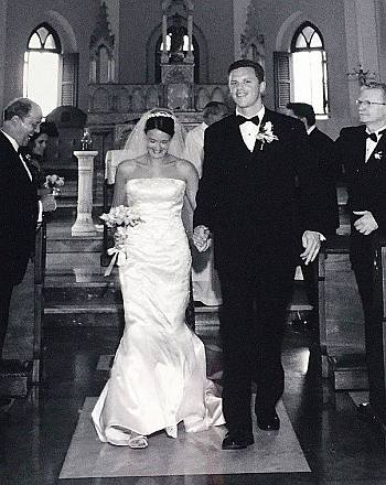 willie geist wife christina - may 2003 wedding in humacao puerto rico