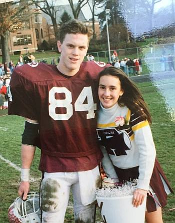 willie geist young football jock