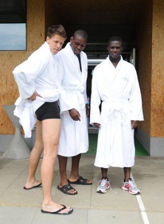 wojciech szczesny underwear - shirtless arsenal football players