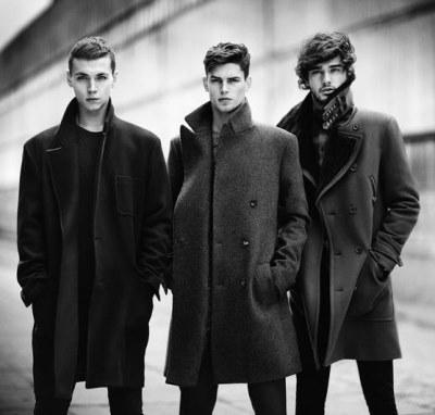 zara mens coats - fall winter 2013-2014 - Arthur Gosse Marlon Teixeira and Yuri Pleskun
