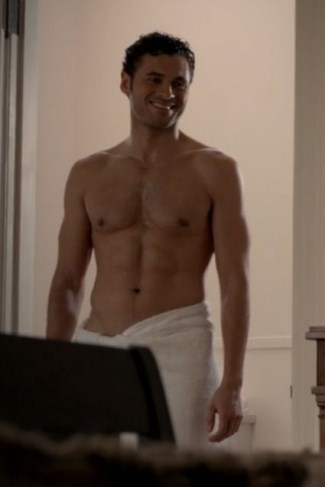 adan canto shirtless - the following - mexican hunk