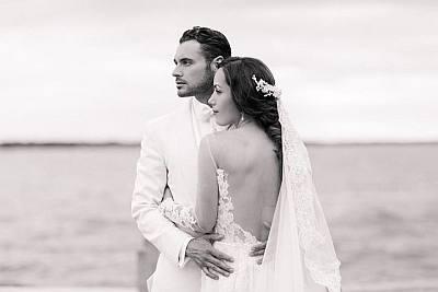 adan canto wife stephanie - wedding