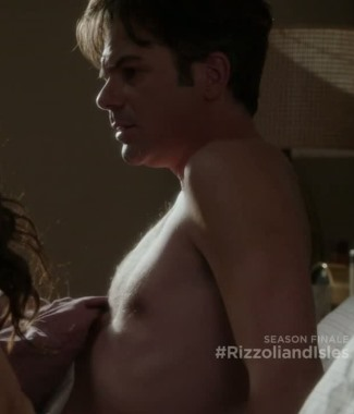 billy burke naked in bed - rissoli and isles