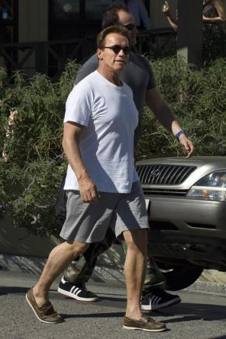 celebrity boat shoes - arnold schwarzenegger