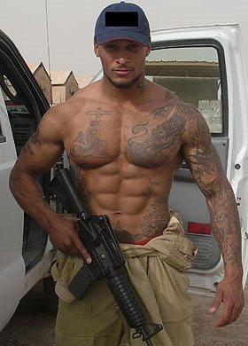 david mcintosh real soldier hunk - royal marines