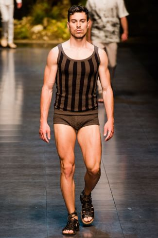 dolce gabbana mens tank tops and squarecut swimwear