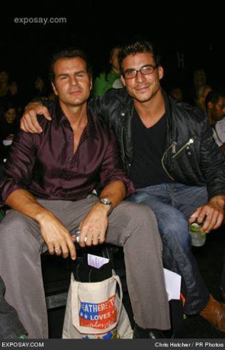 jax taylor boyfriend ex - Vincent De Paul - Mercedes Benz LA Fashion Week Spring 2008