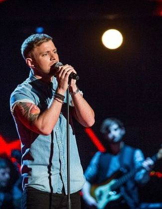 lee glasson - the voice uk