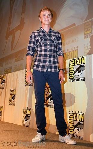 mens boat shoes - tom felton in topman leather boatshoes