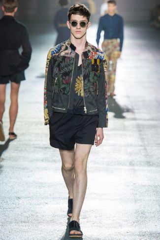 mens jackets 2014 - Dries Van Noten - menswear spring summer 2014 - paris fashion week
