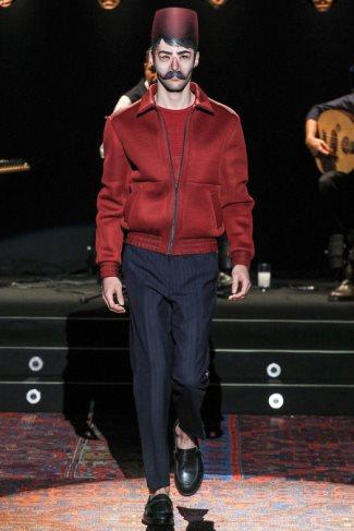 mens spring jackets 2014 - Umit Benan spring summer menswear collection - paris fashion week