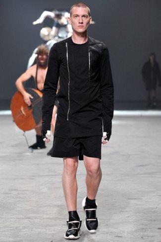 rick owens jackets for men - 2014 - spring summer menswear collection - paris fashion show