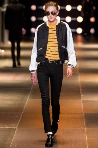 saint laurent ysl mens jackets 2014 - spring summer collection - paris fashion week