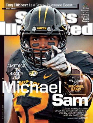 michael sam sports illustrated cover boy