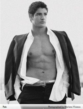 Alexandre Pato underwear model - dolce and gabbana