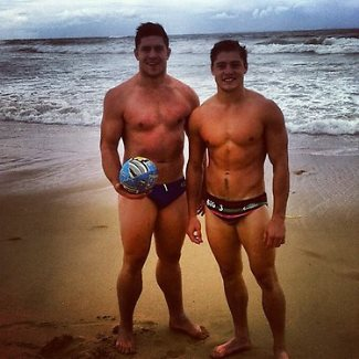 James OConnor and Benjamin Whittaker - then western force sr now with biarritz