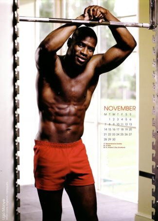 black rugby players - NOVEMBER – Ugo Monye - 2011 rugbys finest calendar