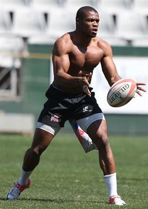 black rugby players shirtless - Sibusiso Sithole