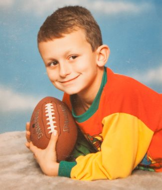johnny manziel young - at 4 years old