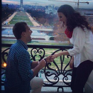 kirk cousins fiancee - girlfriend proposal - julie hampton