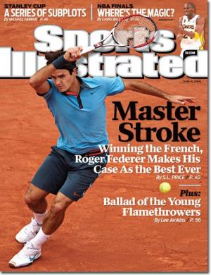 rofer federer sports illustrated cover