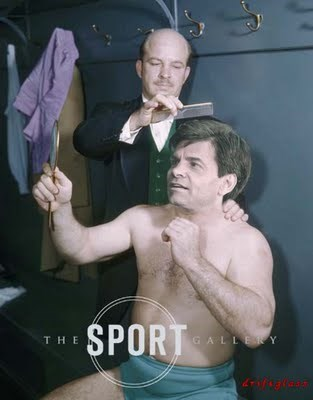 George Stephanopoulos shirtless - fake pic - wrestler George Raymond Wagner