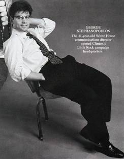George Stephanopoulos young and sexy hot