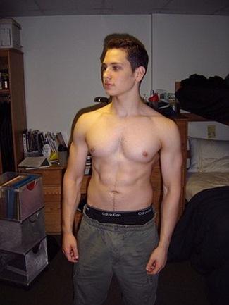 Matt McGorry sexy - calvin klein peekabo underwear